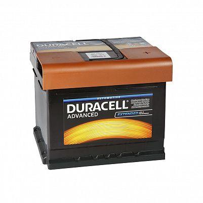 Автомобильный аккумулятор Duracell DA 50T 50 Ач обр/п низкий куб фото 401x401