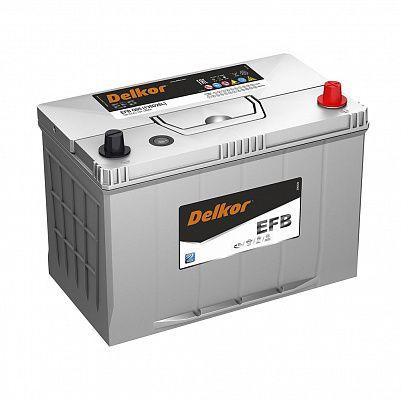 Аккумулятор автомобильный DELKOR EFB 130D26L обр фото 401x401