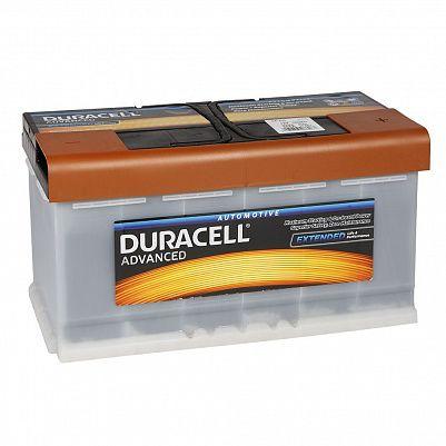 Автомобильный аккумулятор Duracell 100.0 (DA 100) фото 401x401