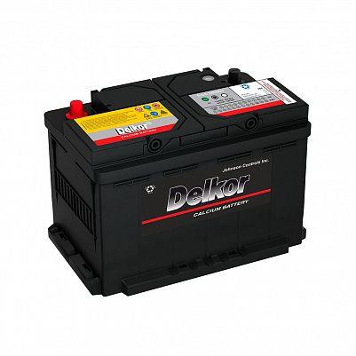 Автомобильный аккумулятор DELKOR Euro 80.0 L3 (58014) фото 401x401