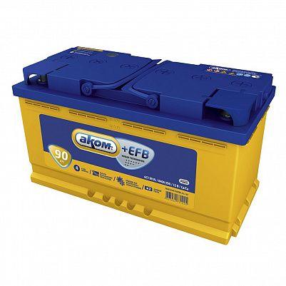 Автомобильный аккумулятор Аком + EFB 90.1 фото 401x401