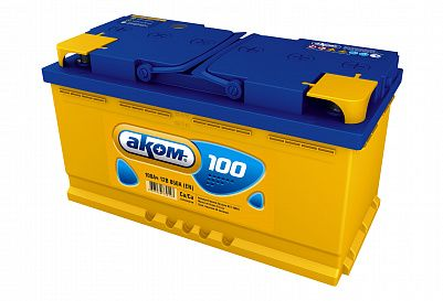 Автомобильный аккумулятор Аком 100.1 фото 401x273