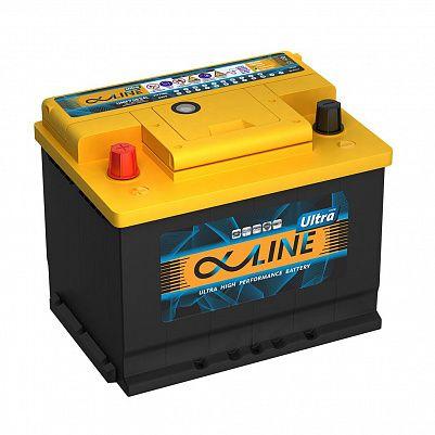 Автомобильный аккумулятор AlphaLINE ULTRA 68.1 L2 (56801) фото 401x401