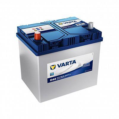 Автомобильный аккумулятор Varta D48 Blue Dynamic (560 411 054) 60Ah фото 401x401