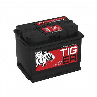Автомобильный аккумулятор Tiger X-treme (Тюмень) 55.1 пр фото 401x401