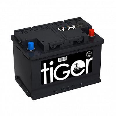 Автомобильный аккумулятор Tiger Аком 75.0 обр фото 401x401