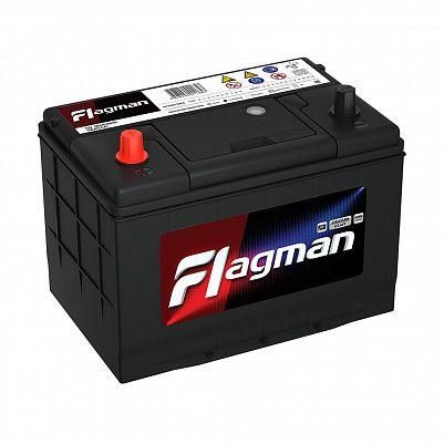 Автомобильный аккумулятор Flagman 95D26R (80) фото 401x401