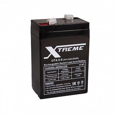 Аккумулятор Xtreme VRLA 6v  4.5Ah (OT4.5-6) фото 401x401