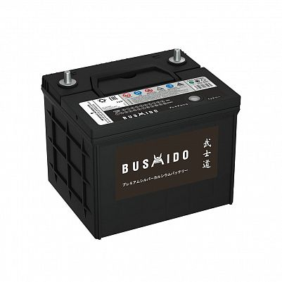 Автомобильный аккумулятор BUSHIDO 58.0 L1 (26R-550) фото 401x401