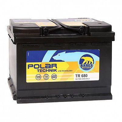 Автомобильный аккумулятор Baren Polar Technik AFB 70.0 L3 (TR 680) фото 401x401