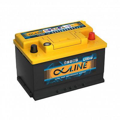 Автомобильный аккумулятор AlphaLine Ultra 74 Ач (UMF57400) LB3 фото 401x401