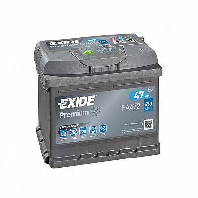 Автомобильный аккумулятор Exide Premium 47.0 (EA472) фото 401x401