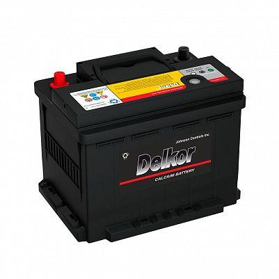 Автомобильный аккумулятор DELKOR Euro 65.0 L2 (56513) фото 401x401