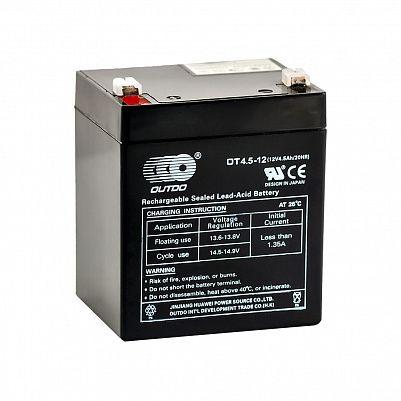 Аккумулятор OUTDO VRLA 12v  4.5Ah (OT4.5-12) фото 401x401