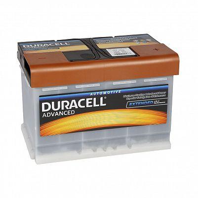 Автомобильный аккумулятор Duracell 77.0 (DA 77H) фото 401x401