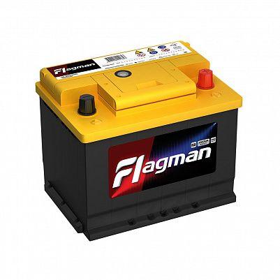 Автомобильный аккумулятор Flagman 68.0 L2 (56800) фото 401x401