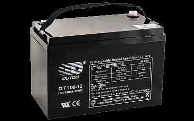 Аккумулятор OUTDO VRLA 12v  100Ah (OT100-12) фото 401x250