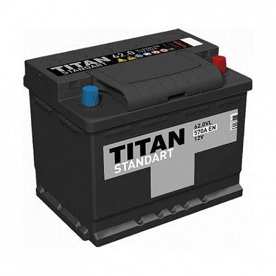 Автомобильный аккумулятор Titan Asia Standart 72.0 (D26L) фото 401x401