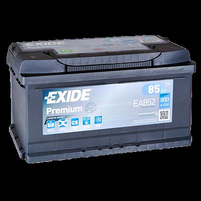 Автомобильный аккумулятор Exide Premium 85.0 (EA852)  низкий фото 401x401