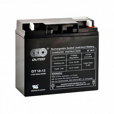Аккумулятор OUTDO VRLA 12v  18Ah (OT18-12) фото 401x401
