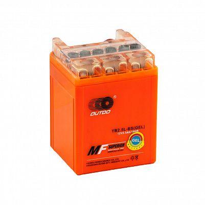 Мото аккумулятор 2,5Ah OUTDO YB2,5L-BS (2,5Ah) фото 401x401