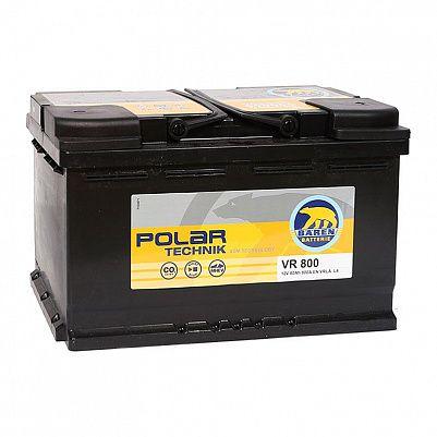 Автомобильный аккумулятор Baren Polar Technik AGM 80.0 L4 (VR 800) фото 401x401