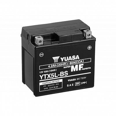 Мото YUASA MF YTX5L-BS (CP) фото 401x401