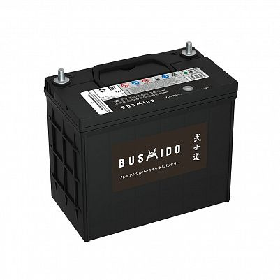 Автомобильный аккумулятор BUSHIDO 70B24R 55Ач фото 401x401