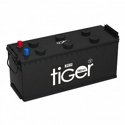 Аккумулятор для грузовиков Tiger (Рязань) 190.3 узкий евро фото 401x401