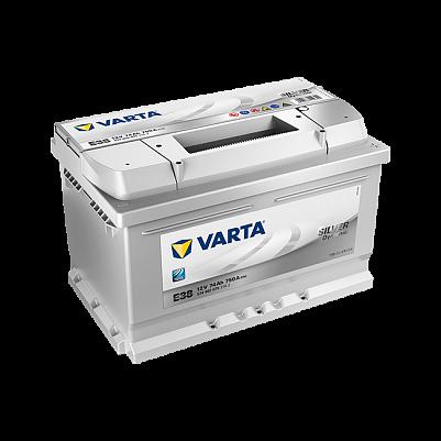 Автомобильный аккумулятор Varta E38 Silver Dynamic (574 402 075) 74Ah низкий фото 401x401