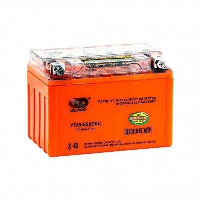 Мото аккумулятор 9Ah OUTDO UTX9(YTX9)-BS iGEL фото 401x401