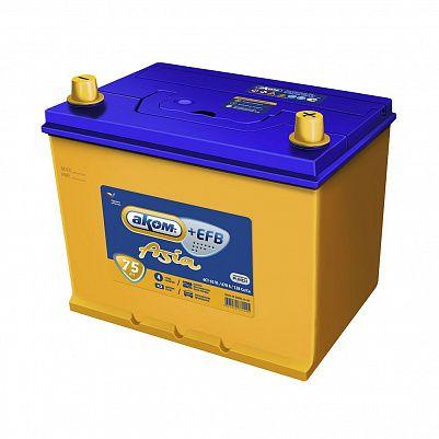 Автомобильный аккумулятор Аком Asia + EFB  85D26R 75.1 фото 401x401