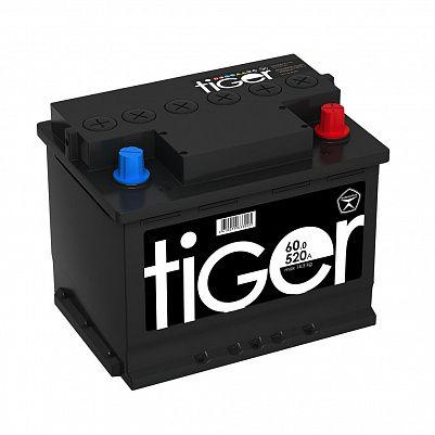 Автомобильный аккумулятор Tiger Аком 60.0 обр. фото 401x401