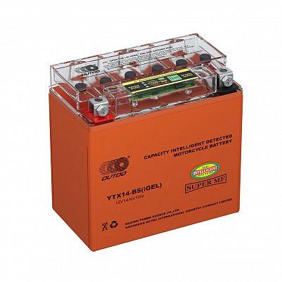 Мото аккумулятор 14Ah OUTDO UTX14(YTX14)-BS iGEL фото 401x401
