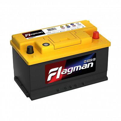 Автомобильный аккумулятор Flagman 80.0 LB4 (58000) обр, фото 401x401