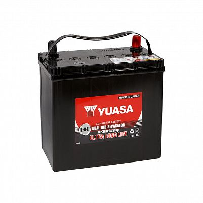 Автомобильный аккумулятор YUASA EFB 55B20L (38) фото 401x401