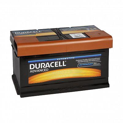 Автомобильный аккумулятор Duracell 80.0 (DA 80) фото 401x401
