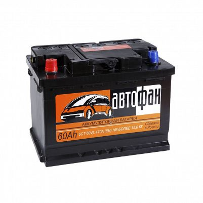 Автомобильный аккумулятор Автофан 60.1 фото 401x401