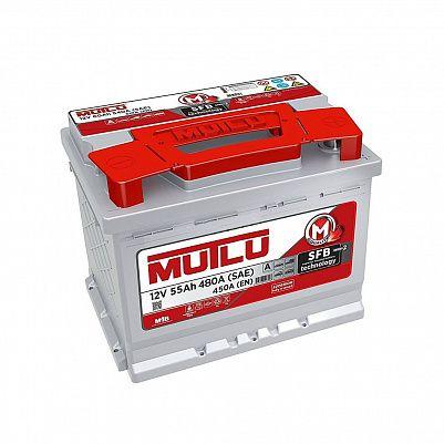 Аккумулятор автомобильный MUTLU 55.0 LB1 низкий 55Ач фото 401x401