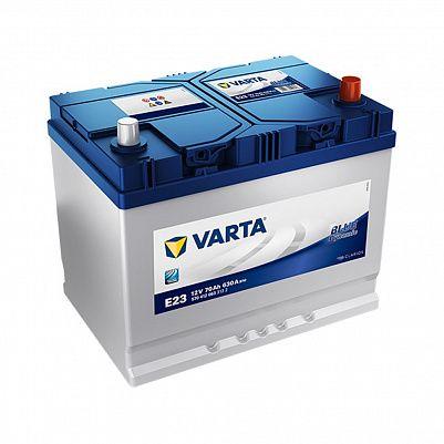 Автомобильный аккумулятор Varta Blue Dynamic E23 (570 412 063) 70 Ач D26L фото 401x401