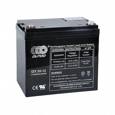 Аккумулятор OUTDO VRLA 12v  55Ah (OT55-12) фото 401x401