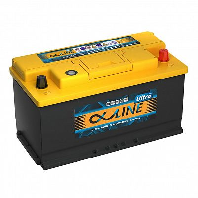 Автомобильный аккумулятор AlphaLINE ULTRA 105.0 L5 (60500) фото 401x401