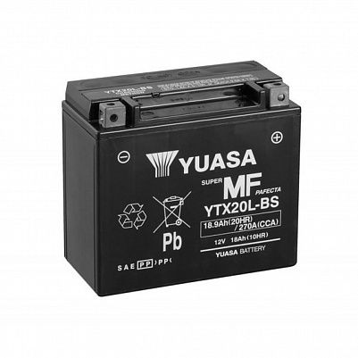 Мото YUASA MF YTX20L-BS (CP) фото 401x401