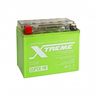 Мото аккумулятор Xtreme UTX13(YTX12)-BS iGEL (13Ah) фото 401x401