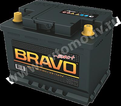 Автомобильный аккумулятор Bravo 60.0 фото 400x352