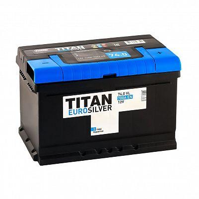 Автомобильный аккумулятор Titan EUROSILVER 74.0 фото 401x401