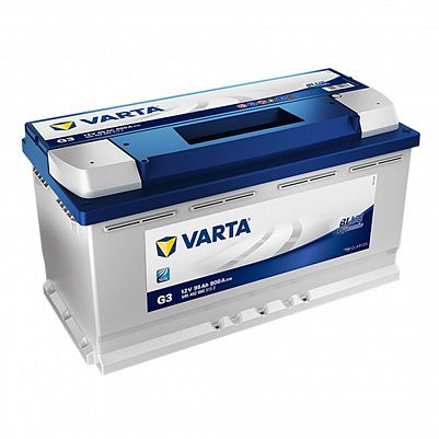 Автомобильный аккумулятор Varta G3 Blue Dynamic (595 402 080) 95Ah фото 401x401