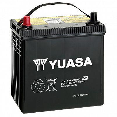 Автомобильный аккумулятор YUASA MF Black Edition 85D26R (69) фото 401x401