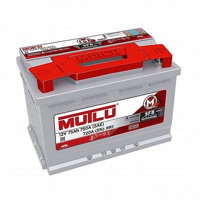 Автомобильный аккумулятор Mutlu SMF 57512 SFB серия 3 L3.75.072.A 75.0 Ач фото 401x401