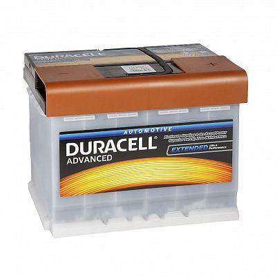 Автомобильный аккумулятор Duracell 63Ач обратная полярность (DA 63H) фото 401x401